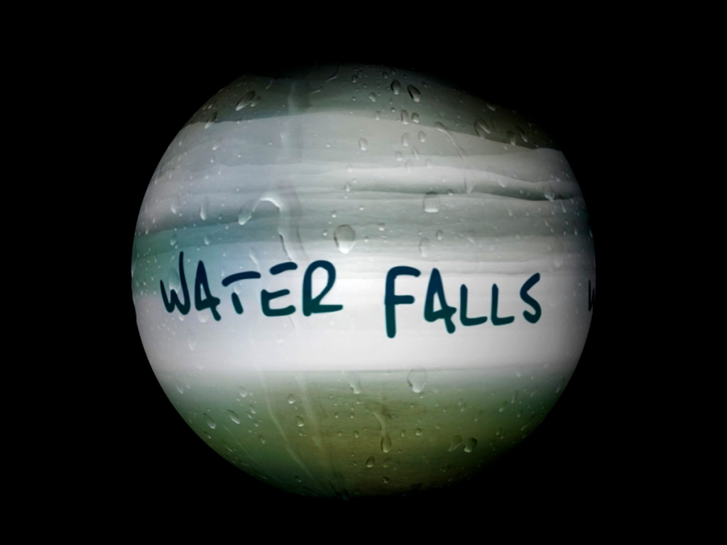 Science on a Sphere movie Water Falls
