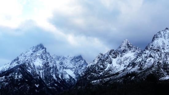Fresh snow in Grand Teton National Park by Verglas Media