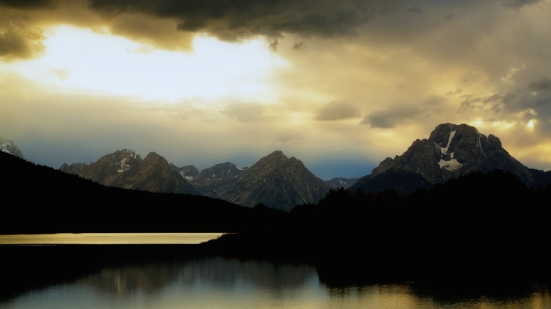 Sunset on the Snake River, Grand Teton national park, Wyoming by Verglas Media